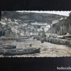 Postales: CUDILLERO ASTURIAS FOTO PIRE MUROS VISTA DEL PUERTO POSTAL FOTOGRAFICA 1958. Lote 286525763