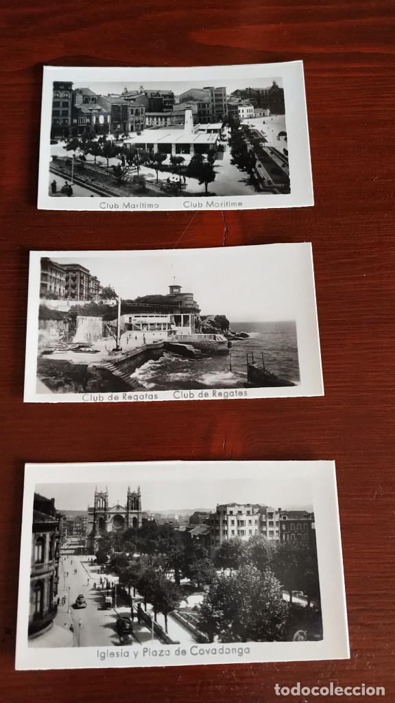 Postales: Block con 14 postales fotográficas Gijón . - Foto 2 - 287103388