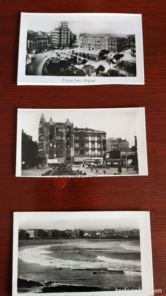 Postales: Block con 14 postales fotográficas Gijón . - Foto 3 - 287103388
