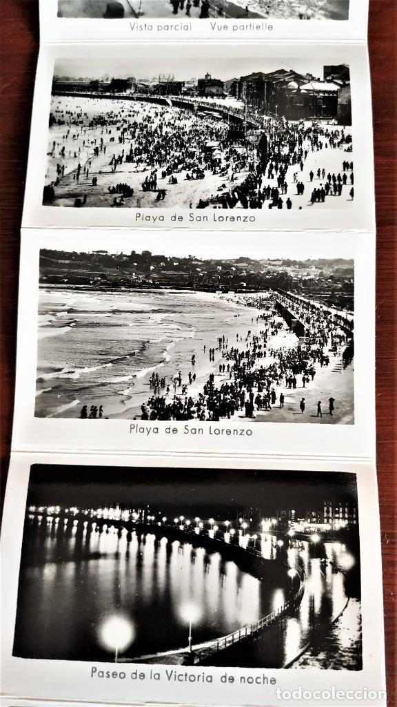Postales: Block con 14 postales fotográficas Gijón . - Foto 5 - 287103388