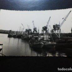 Postales: GIJÓN ASTURIAS PUERTO DE MUSEL. Lote 287229653