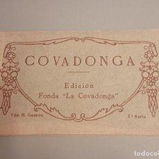 Postais: COVADONGA ASTURIAS CUADERNILLO 9 POSTALES. Lote 287385653