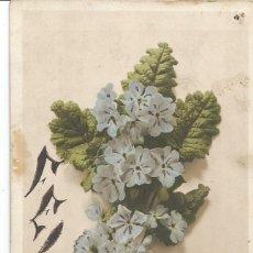 Postales: POSTAL 1911 OVIEDO SAN MARTÍN DE LUIÑA AMBULANTE. 1911. ALFONSO XIII 15CTS. FELICIDADES.. Lote 287652758