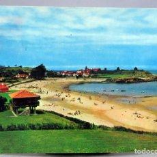 Postales: POSTAL COLUNGA PLAYA DE LA ISLA HORREO EDICIONES ALCE 1966 CIRCULADA SELLO. Lote 287741348