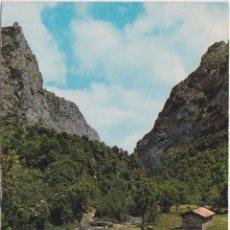 Postales: PICOS DE EUROPA, VALLE DE VALDEON, LA PEGERA Y HOZ DE CAIN – ED.SICILIA – CIRCULADA 1968. Lote 287795733