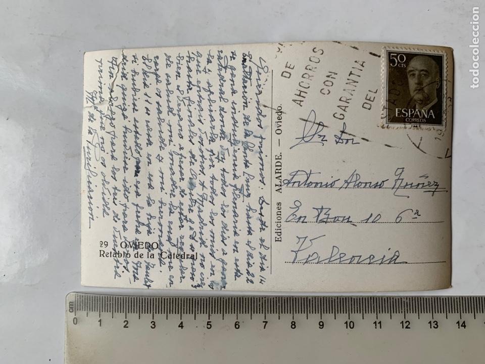 Postales: POSTAL. OVIEDO. RETABLO DE LA CATEDRAL. EDICIONES ALARDE. - Foto 2 - 287908853