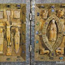 Postales: CATEDRAL DE OVIEDO, DÍPTICO ROMÁNICO S.XII – EDICIONESALARDE Nº74 – S/C. Lote 288207228