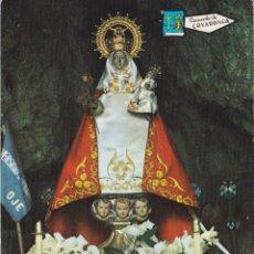 Postales: COVADONGA, LA SANTINA EN LA CUEVA – EDICIONES ALCE Nº198 – ESCRITA. Lote 288208268