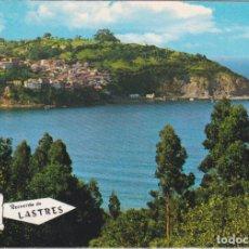 Postales: LASTRES (ASTURIAS) VISTA GENERAL – ED.PERGAMINO 16175 – CIRCULADA. Lote 288208918