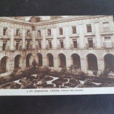 Postales: POSTAL COLEGIO DOMINICOS DE CORIAS ASTURIAS. Lote 289693778