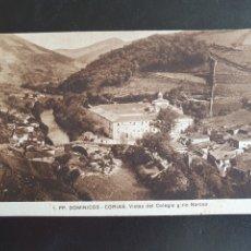 Postales: POSTAL PADRES DOMINICOS DE CORIAS ASTURIAS. Lote 289694438