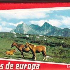 Postales: ASTURIAS, PICOS DE EUROPA. PEQUEÑO BLOC POSTAL CON 10 POSTALES. ED. ALARDE. Lote 289896083