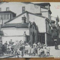 Postales: POSTAL DE AVILES, CALLE DEL RIVERO, N.3, ED. THOMAS. POSTAL 100% ORIGINAL. NO CIRCULADA.. Lote 290488133