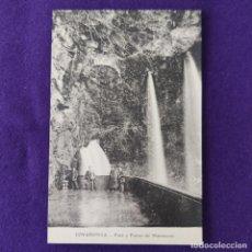 Postales: POSTAL DE COVADONGA (ASTURIAS). POZO Y FUENTE DEL MATRIMONIO.. Lote 293763468