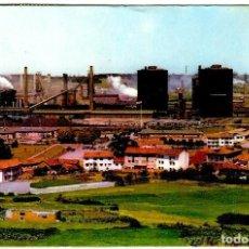 Postales: LLARANES (AVILÉS-ASTURIAS) - FACTORÍA DE ENSIDESA, VISTA PARCIAL - ED. PERGAMINO Nº 16306 - 151X105. Lote 294380933