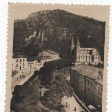 Postales: POSTAL - COVADONGA - SUBIDA A LA BASILICA. Lote 294442368