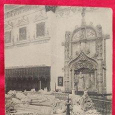 Postales: TARJETA POSTAL DE BURGOS. CARTUJA, SEPULCRO.. Lote 295786953