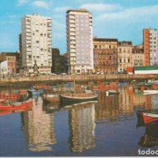 Postales: GIJON, DARSENA - EDICIONES ARRIBAS Nº77 - S/C. Lote 296608313
