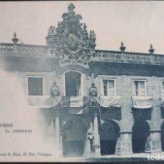 Postales: ASTURIAS OVIEDO EL HOSPICIO SIN CIRCULAR REVERSO SIN DIVIDIR HAUSER Y MENET. Lote 296798298