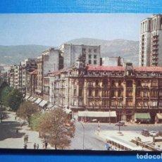 Postales: POSTAL - OVIEDO - PASEO DE JOSÉ ANTONIO Y CALLE URIA - ESPERON - AÑO 1982 - ESCRITA. Lote 297087643