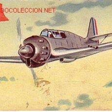 Postales: TARJETA POSTAL DE FRANCIA. Nº36. MONOPLANO CAZA 'BLOCH 151'.. Lote 12511651