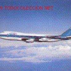 Postales: 7AVION-1. BOEING 747. LÍNEAS AÉREAS ISRAELIES. Lote 737137
