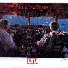 Postales: 7AVION-4. CABINA AVIÓN COCKPIT MD-11. Lote 737160