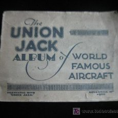 Postales: THE UNION JACK ALBUM O WORLD FAMOUS AIRCRAFT NOV 1930 . Lote 13914452