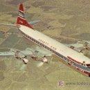 Postales: POSTAL DE AVION ANSETT-AUSTRALIAN NATIONAL AIRWAYS-LOCKHEED L-188A ELECTRA. Lote 26464020