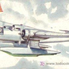 Postales: TARJETA POSTAL DE AVION DE LOS ESTADOS UNIDOS. HALL X. P. T. B. H. 2. HIDROPLANO TORPEDERO.. Lote 3477166
