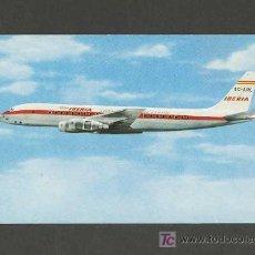 Cartoline: POSTAL DE AVIACION: DOUGLAS DC-8 TURBOFAN IBERIA (AVION). Lote 3815964