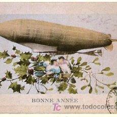 Postales: HISTORIA GRÁFICA DEL SIGLO XX - REPRODUCCIÓN 1982 - BONNE ANNEE. Lote 4499341
