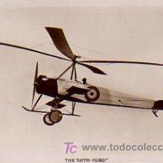 Postales: EL AUTO GIRO. THE 'AUTO GIRO'. Lote 4478877