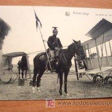Postales: POSTAL DE LA ARMADA BELGA - EN LA FOTO LA GARDE DE AÉROPLANE- PRINCIPIOS SIGLO XX. Lote 22796209