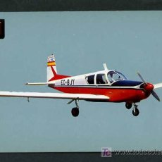 Postales: AVIONETAS DEPORTIVAS. *SIAI - MARCHETTI S.205* REAL AERO CLUB BARCELONA-SABADELL Nº 10. NUEVA.. Lote 4690744