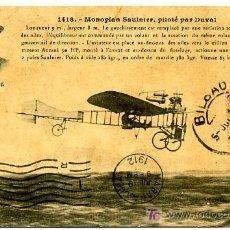 Postales: M. DUVAL, MONOPLAN SAULNIEV, P13899. Lote 8799004