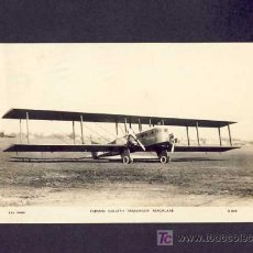 Postales: POSTAL DE AVIACION: FARMAN GOLIATH PASSENGER AEROPLANE (AVION). Lote 5634600