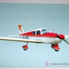 Postales: ANTIGUA POSTAL DE AVIONETA DEPORTIVA PIPER PA-28-CHEROKEE C - REAL AERO CLUB BARCELONA SABADELL ESC. Lote 19370494