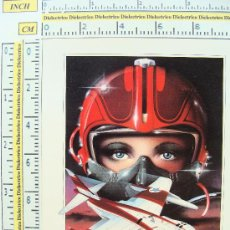 Postales: POSTAL INGLESA. ATHENA INTERNATIONAL. AÑOS 80. LADY HALCÓN. CAZA Y PILOTO. . Lote 6952422