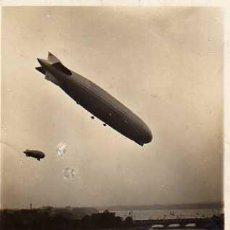 Postales: GRAF ZEPPELIN, ÜBER HAMBURG - BINNENALSTER 1929. Lote 9747801
