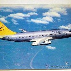 Postcards - CONDOR EUROPA-JET-BOEING 737-230.No circulada. - 8137923