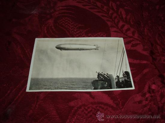 FOTOGRAFIA ORIGAL GRAF ZEPPELIN (Postales - Postales Temáticas - Aeroplanos, Zeppelines y Globos)