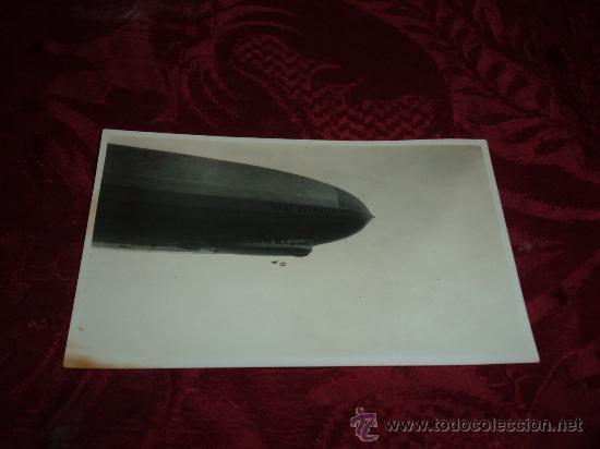 FOTOGRAFIA ORIGINAL GRAF ZEPPELIN (Postales - Postales Temáticas - Aeroplanos, Zeppelines y Globos)