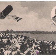 Postales: BLERIOT. (ATRAVEZÓ EL CANAL DE LA MANCHA EN 1909). Lote 17372600