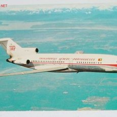 Postales: ANTIGUA POSTAL AVION - BOEING 727 - TAP PORTUGUESE AIRWAYS - NO CIRCULADA.. Lote 2491635