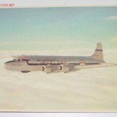 Postales: ANTIGUA POSTAL AVION - SCANDINAVIAN - DC-6 AIRCRAFT - NO CIRCULADA.. Lote 2491652