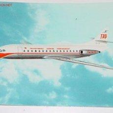 Postales: ANTIGUA POSTAL AVION - CARAVELA VI-R - PORTUGUESE AIRWAYS - NO CIRCULADA.. Lote 2491657