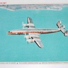 Postales: ANTIGUA POSTAL AVION - TRANS-CANADA AIR LINES - NO CIRCULADA.. Lote 2491676