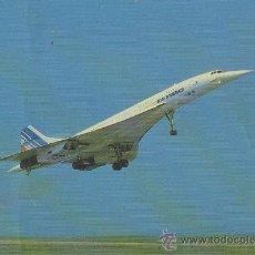 Postales: TARJETA POSTAL DE AVION CONCORDE AIR FRANCE EDITADA EN FRANCIA. Lote 17077162