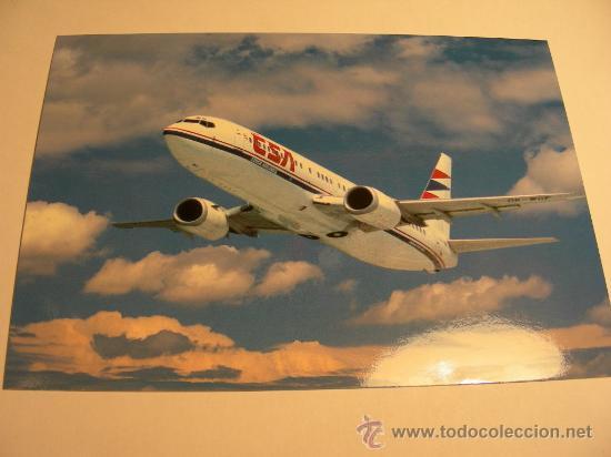 BOEING 737 (Postales - Postales Temáticas - Aeroplanos, Zeppelines y Globos)